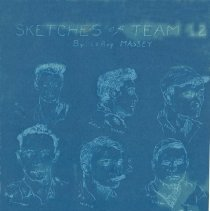Image of Sketches of Team 12 by LeRoy Massey