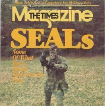 Image of The Times Magazine with articles about SEALs