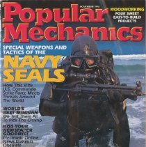 Image of Popular Mechanics Magazine with article about SEALs