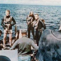 Image of 2001.0096.8 - B&W photo of Ron Damon