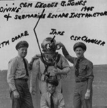 Image of Diving & Submarine Escape Instructor CGM George B. Jones 1945