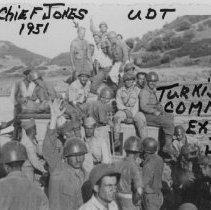 Image of Turkey-Chief Jones 1951 UDT Turkish Commandos Except Jones