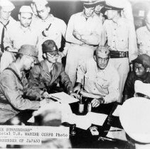 Image of Wake Surrenders, US Marine Corps photo