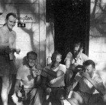 Image of Camp Erdman Oahu T.H. Feb 1945 Marshall Hall Dolliver Rowe Adams