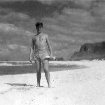 Image of Camp Erdman Oahu T.H. Feb 1945 - Willie