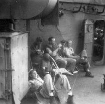 Image of December 1944 Debold holds planning conference