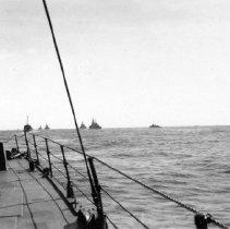 Image of Lingayen Gulf Luzon, P.I. Jan 6-11, 1945 D-Day 9Jan1945 Fleet in Gulf