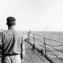 Image of Lingayen Gulf Luzon, P.I. Jan 6-11, 1945 D-Day 9Jan1945 Fires burn beach