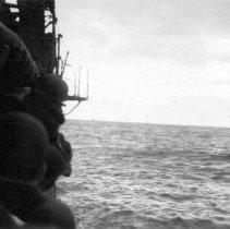 Image of Lingayen Gulf Luzon, P.I. Leaving Gulf D+2