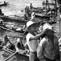 Image of Filipinos near Tacloban, Leyte Is. P.I. January 1945