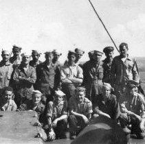 """Image of 1st Div. Aboard """"Gilmer"""" Sept 1944"""