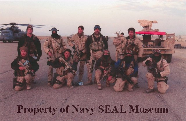 2005 0093 1 - Color group photograph of members of a SEAL