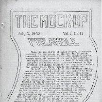 Image of Mock Up Vol 1 No 11, Page 1
