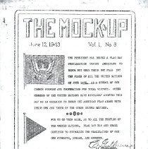 Image of Mock Up Vol 1 No 8, Page 1