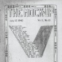 Image of Mock Up Vol 1 No 13, Page 1