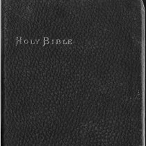Image of Bible, front cover