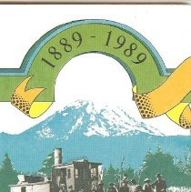 Image of 2008-009.004 - 1989 King County Commemorative Centennial Map