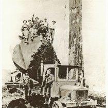 Image of 2008-025.007 - McFarlane & Hoover Logging Contractors, Preston Mill Co.
