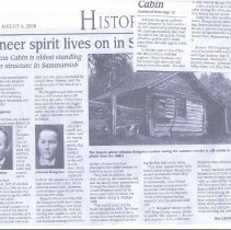 Image of 2008-033.012a-b - 2008 Article on Isackson family history