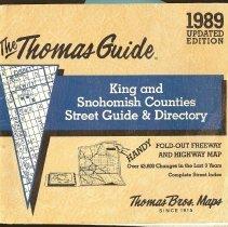 Image of 2008-033.014 - 1989 Thomas Guide, Fall City area