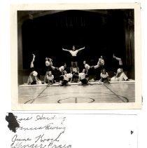 Image of 2009-001.006d - Fall City  tumbling team, c.1940-1942