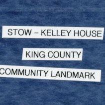 Image of 2009-012.DOC007 - Background on Stow-Kelley house, Fall City Community Landmark
