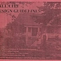 Image of 2009-012.DOC008 - Fall City Design Guidelines: Fall City Historic Residential District & Business District booklet.  2003.