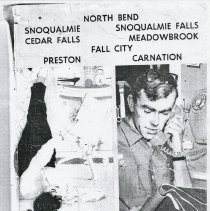 Image of 2009-012.DOC011 - 1959 telephone directory yellow pages from the Cascade Telephone Company, and the Fall City Telephone Company.