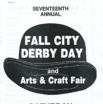 Image of 2009-012.DOC020 - Documents on various Fall City Derby Days celebrations