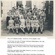 Image of 2009-012.SCP015 - Fall City 4th and 5th Grades, 1939