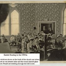Image of 2009-022.003b - Fall City Methodist Church, Easter Sunday 1950s