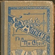 Image of 2009-022.004c - Excell's Athems hymnal, Vols. 1 & 2, 1888. Fall City Methodist Church