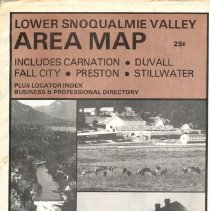 Image of 2010-003.004 - Lower Snoqualmie Valley Map and Business List, mid 1970s?