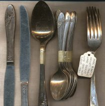 Image of 2011-006.AK089 - Tableware, Artie and Jesse Kelley, c1930 Fall City