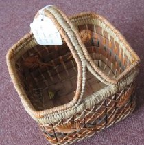Image of 2011-006.AK138 - Basket, made by Susie Williams, Fall City