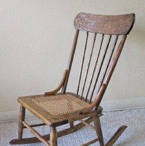 Image of 2011-006.JOK305 - Rocking chair, Josephene Kelley, Fall City
