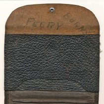 Image of 2011-006.PB222 - Leather wallet, Perry Burns, Fall City
