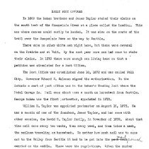 Image of 2011-010.PO010 - Second Draft of Fall City Post Office History