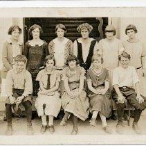 Image of 2011-010.SCH014 - Fall City Class of 1928, as Freshmen