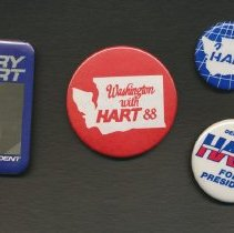 Image of 2012-002.002a-d - State and national political buttons