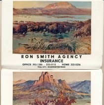 Image of 2013-001.007ED - Ron Smith Insurance, Fall City, 1976 calendar