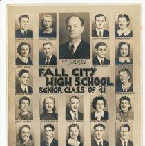 Image of 2013-005.003 - Fall City Class of 1941 Senior Portraits
