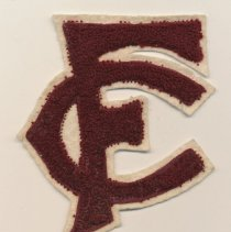 Image of 2014-006.057ED - Fall City High School Letterman's patch