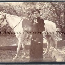 Image of 11.0152RE - Ernestine Edmunds and Her Horse