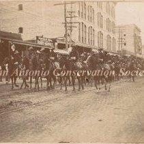 Image of 11.0240RE - Texas Volunteer Cavalry at Fourth of July Parade