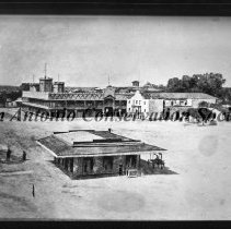 Image of 10.0026AR - Alamo Plaza with Grenet's Store