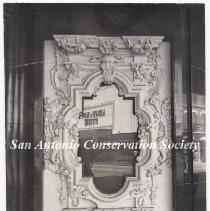 Image of 12.0002DS - Alamo Plaza - Rose Window on Joske's