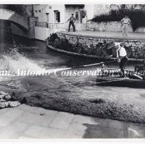 Image of 14.0020RS - Fire Department -  Firemen on San Antonio River