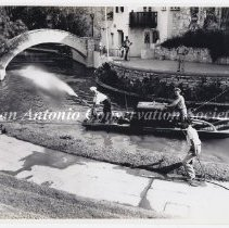 Image of 14.0021RS - Fire Department -  Firemen on San Antonio River