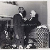 Image of 14.0045RS - Police Department -  Badge Ceremony, Negro Peace Officer's Association